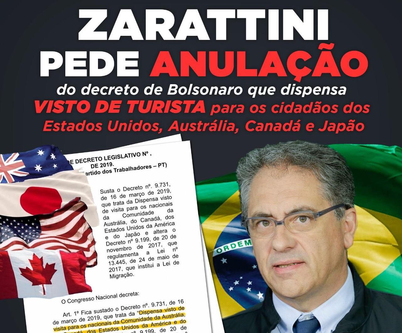 Sem contrapartida: Governo Bolsonaro libera estrangeiros para entrar no Brasil sem visto