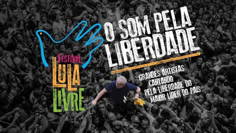 Som Pela Liberdade: Festival Lula Livre em São Paulo