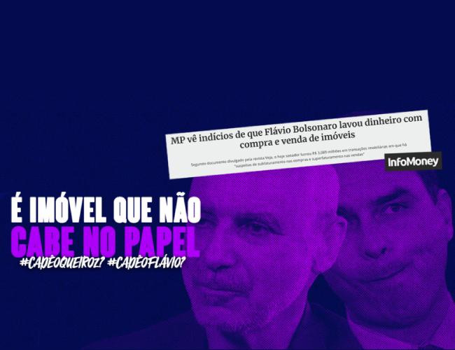 Parentes de Bolsonaro devolviam 90% dos salários da Alerj, diz revista