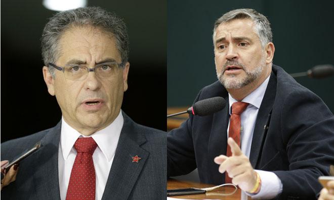Deputados Zarattini e Paulo Pimenta criticam perseguição a Lula