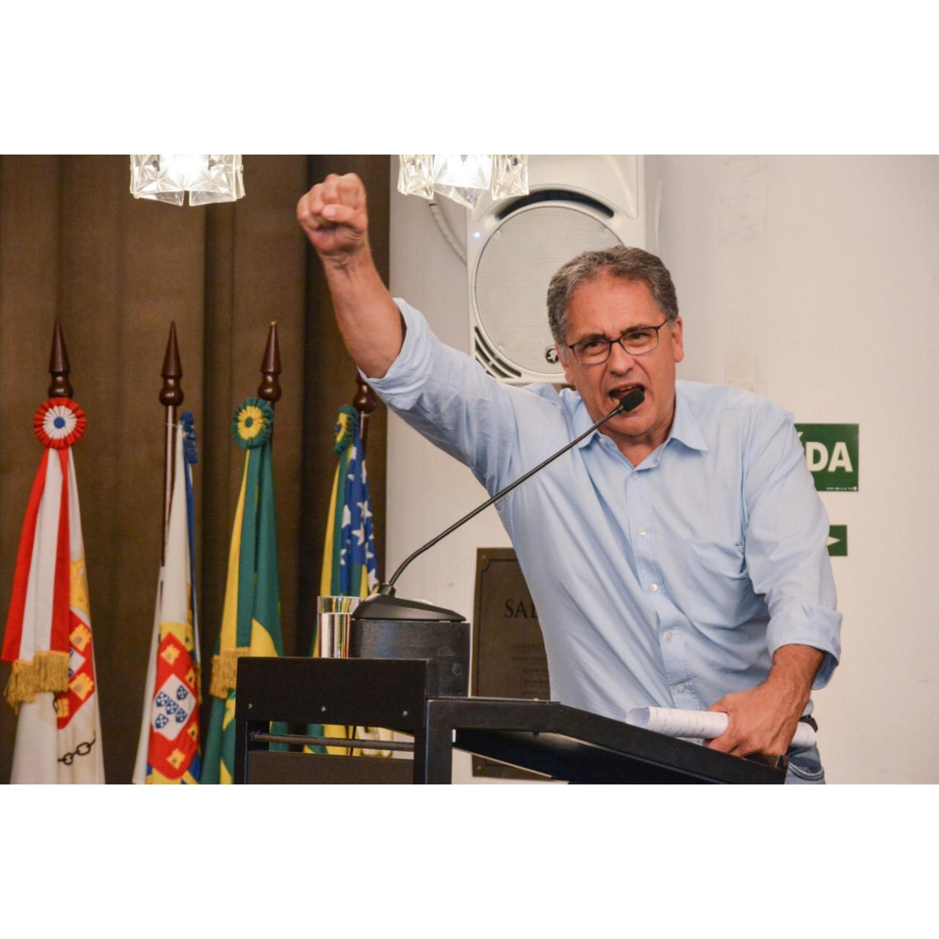 Zarattini mostra força ao lançar pré-candidatura