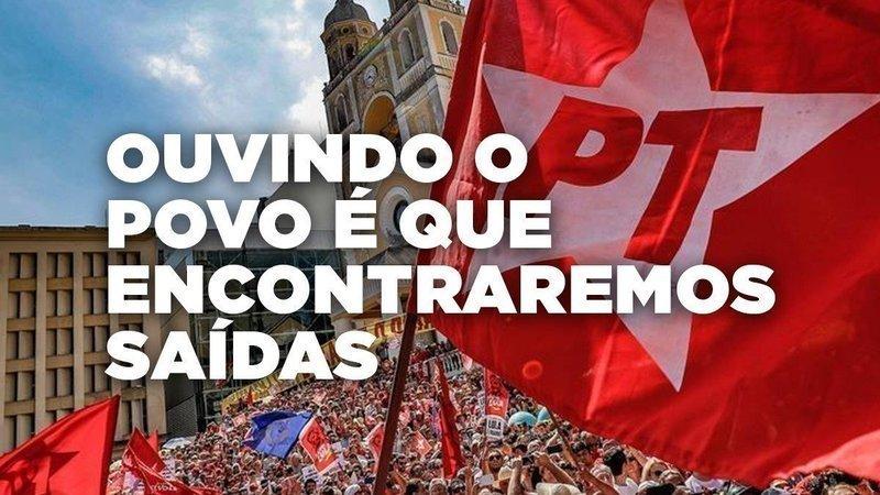 ⭐  Apoie a democracia no PT. ⭐