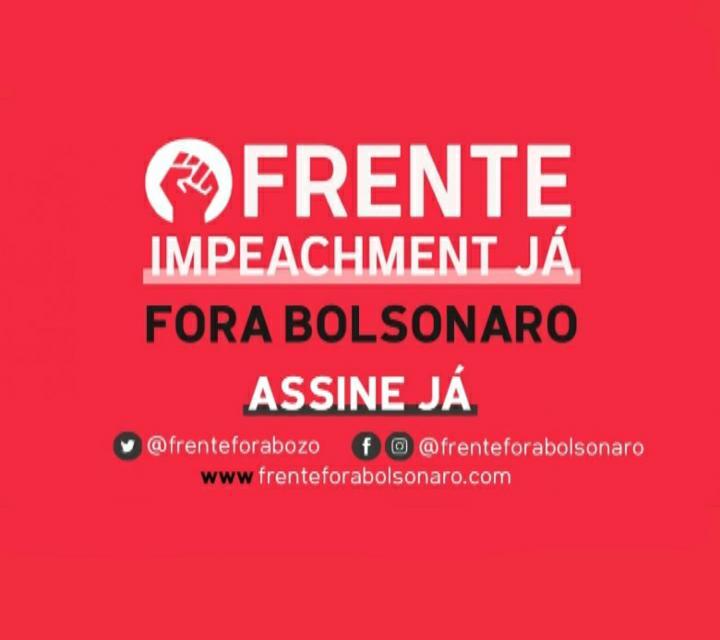 Manifesto pelo impeachment de Bolsonaro ganha a internet