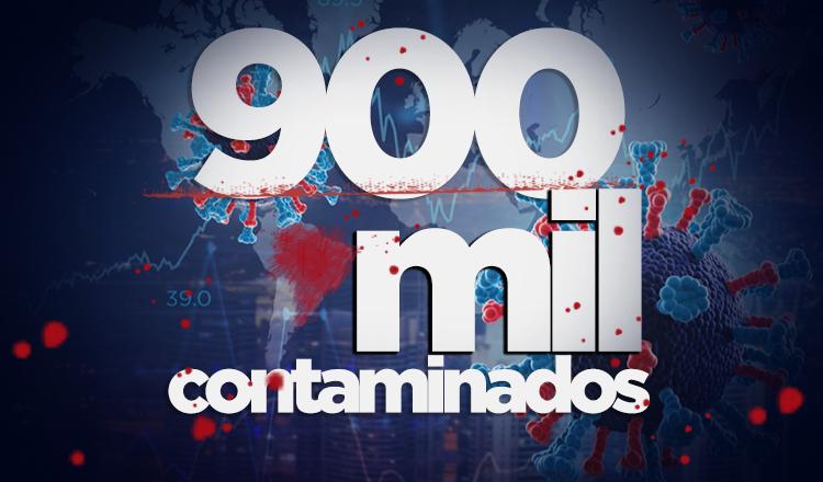 Com subnotificações, Brasil tem mais de 900 mil casos de coronavírus