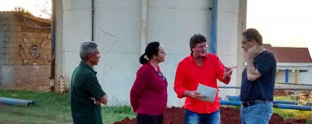 Parceria entre vereador Alemão, deputada Márcia Lia e deputado Carlos Zarattini ajuda a sanar falta d'água em Américo Brasiliense