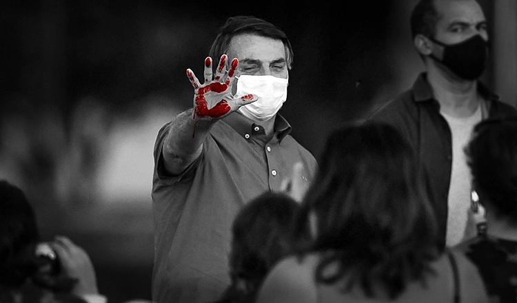 Arauto da morte, Bolsonaro joga com a vida dos brasileiros no Nordeste