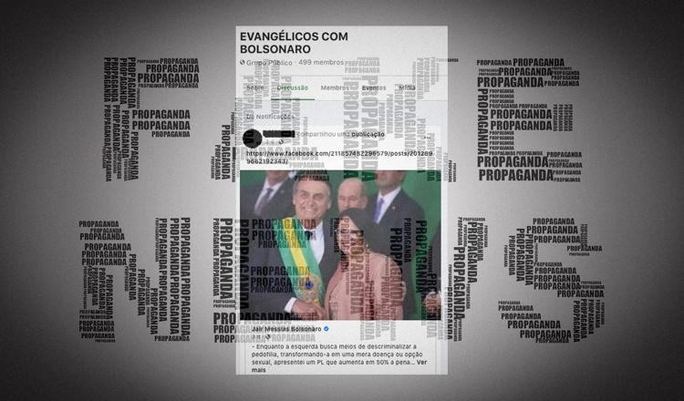 """Bolsonaro defende """"liberdade de caluniar"""" com fake news"""
