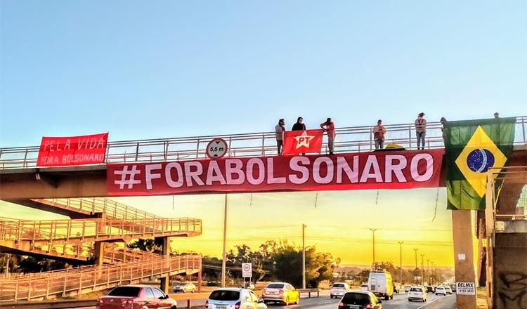 Fora Bolsonaro: Movimentos populares convocam novo ato para sexta