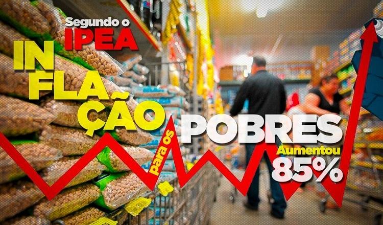 Inflação de alimentos segue arrochando os mais pobres