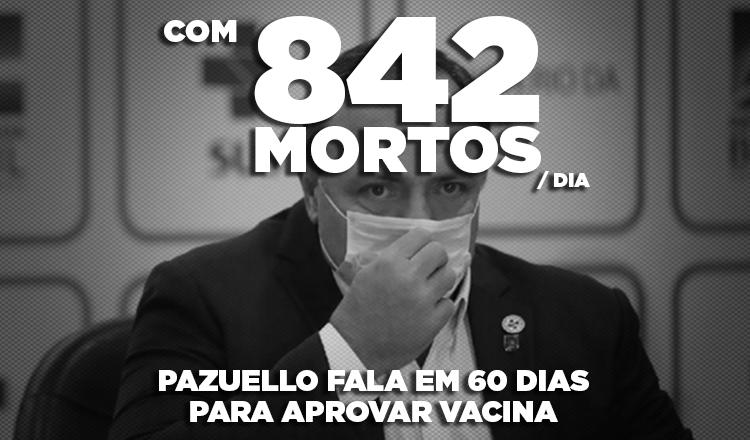 """Lula: """"Não temos 60 dias para esperar, o governo precisa garantir a vacina"""""""