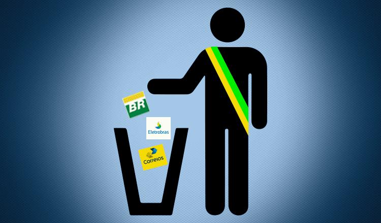 Bolsonaro e Guedes aceleram privatizações para liquidar o Brasil