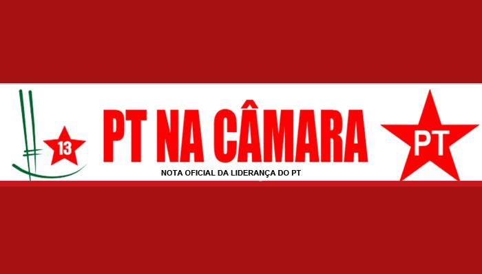 Bancada do PT repudia tentativa de barrar representação na Mesa Diretora da Câmara dos Deputados