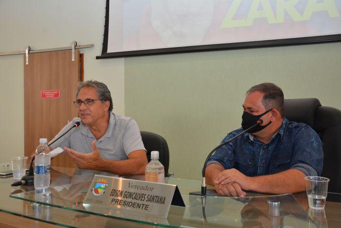 Zarattini firma compromisso de envio de recursos para Santo Antônio de Posse