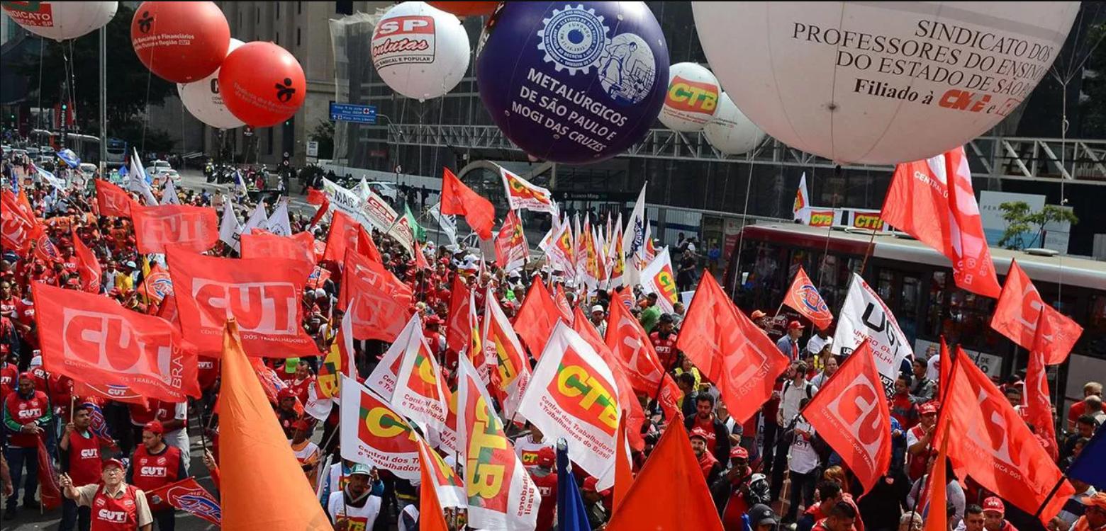 """Centrais sindicais convocam """"lockdown da classe trabalhadora"""" para o dia 24 de março"""