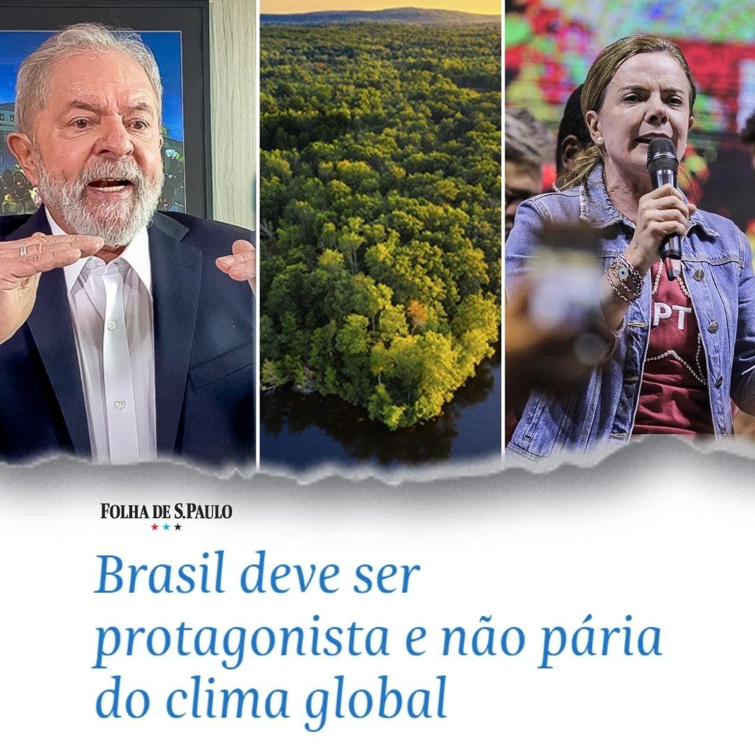 Brasil deve ser protagonista e não pária do clima global