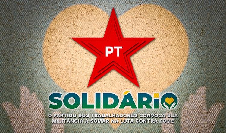 PT Solidário mobiliza coleta e distribuição de alimentos em 1º de maio