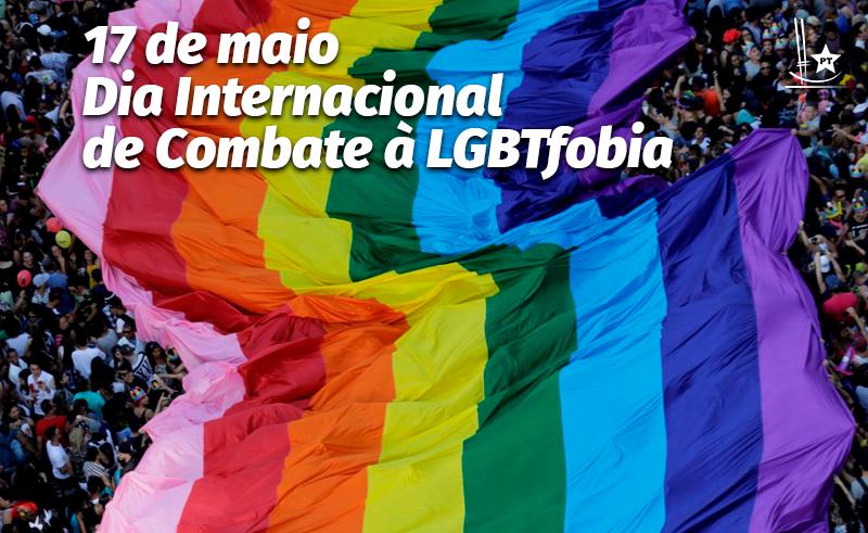 Dia Internacional de Combate à LGBTfobia deve motivar luta pelo respeito à diversidade sexual no Brasil