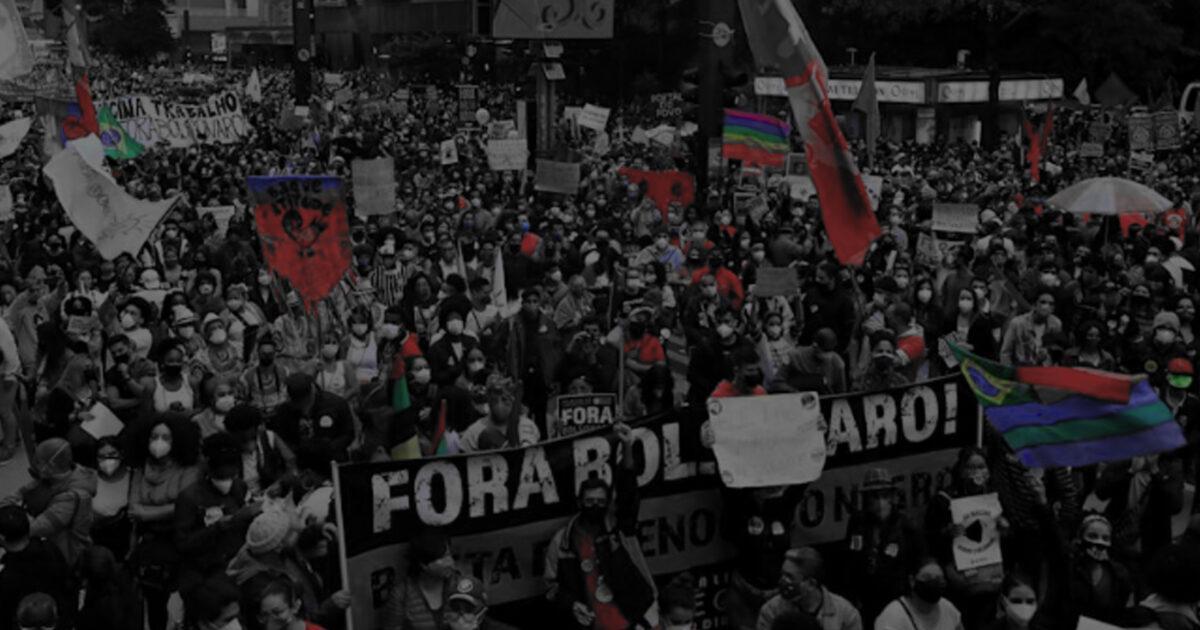 Povo na rua: 7 de setembro será de luta por emprego e Fora Bolsonaro
