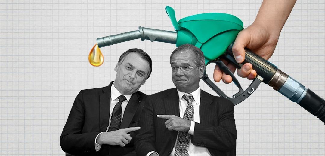 Dolarização dos preços e desvalorização da Petrobras: gasolina bate R$6