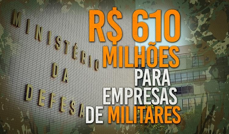Empresas de militares faturam alto durante governo Bolsonaro