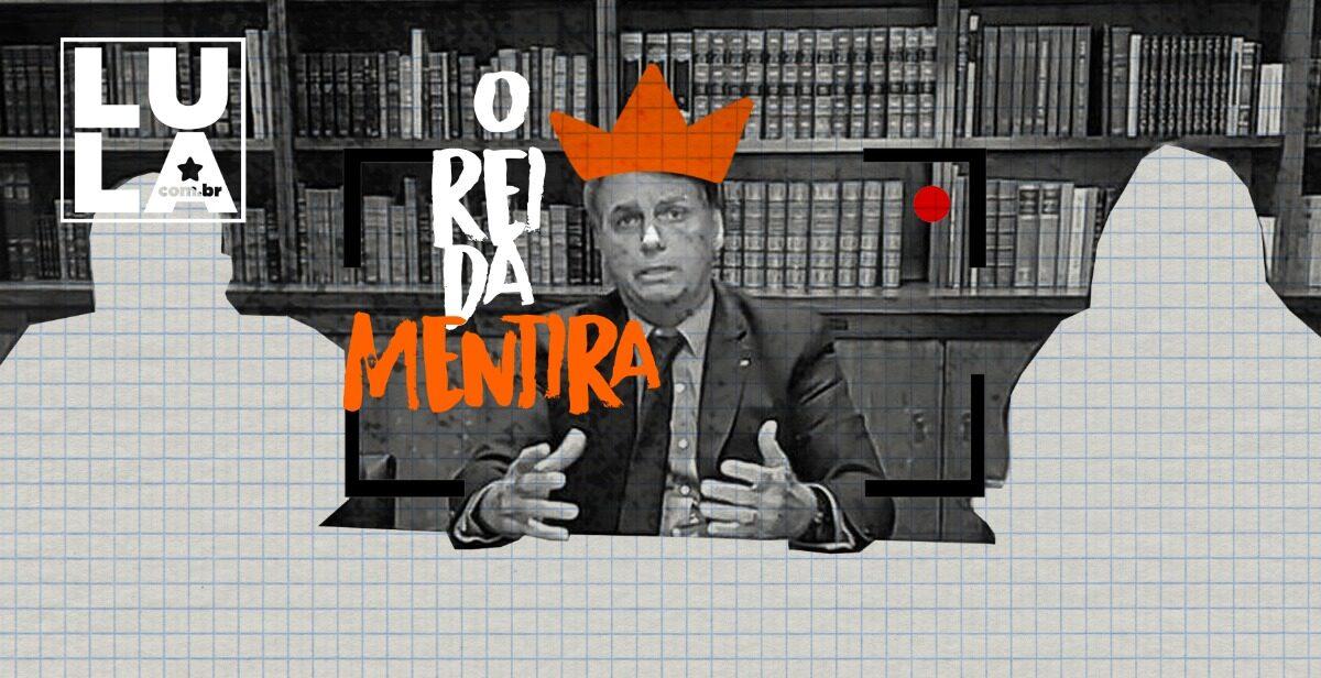 Bolsonaro mentiu 5 vezes por dia segundo organização internacional