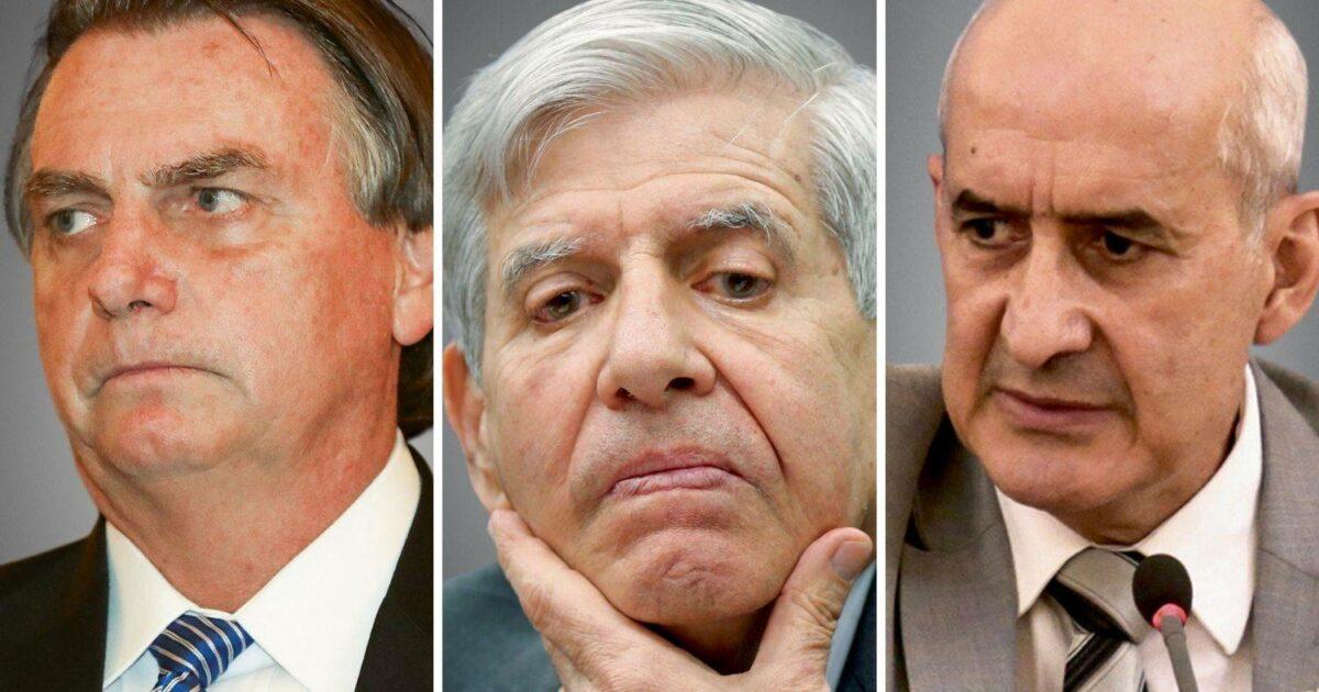 PF intima Ramos, Heleno e Ramagem a prestarem depoimento sobre ataques de Bolsonaro às urnas