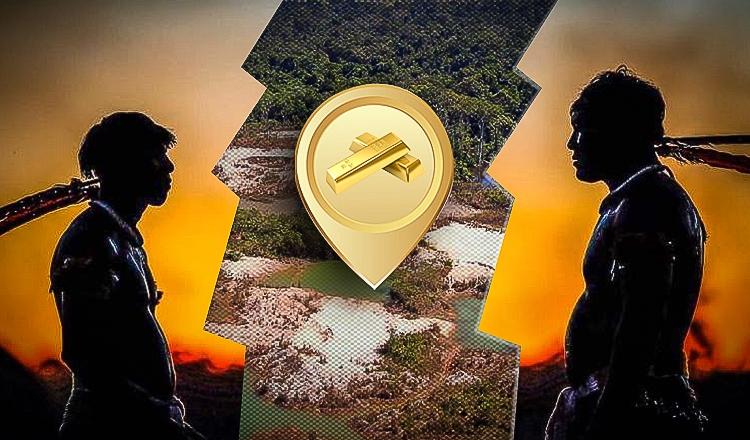 Garimpo avança no Brasil e é maior que a mineração industrial