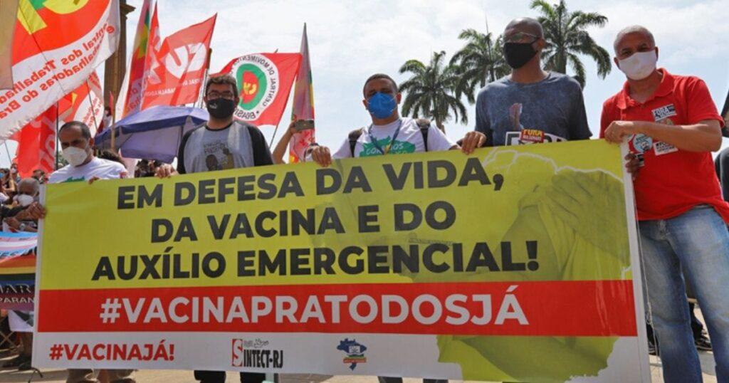 Grito dos Excluídos e atos 'Fora Bolsonaro' levam milhares às ruas em defesa da democracia
