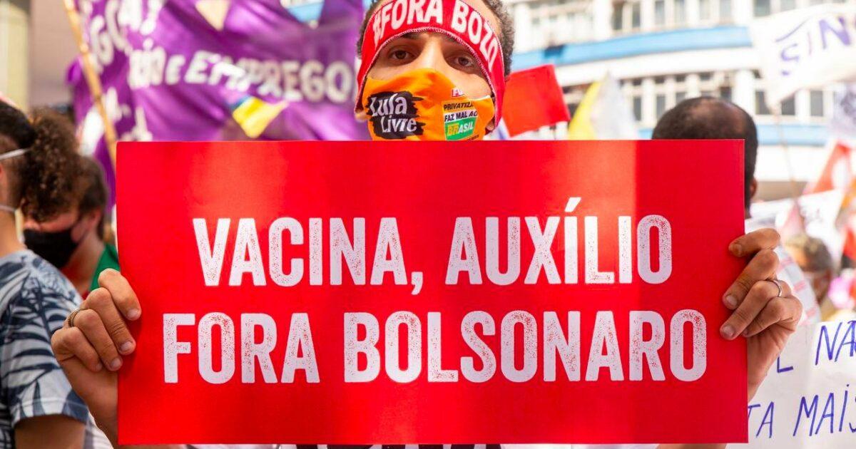 Manifestações contra Bolsonaro ocupam as ruas no 7 de setembro; acompanhe em tempo real