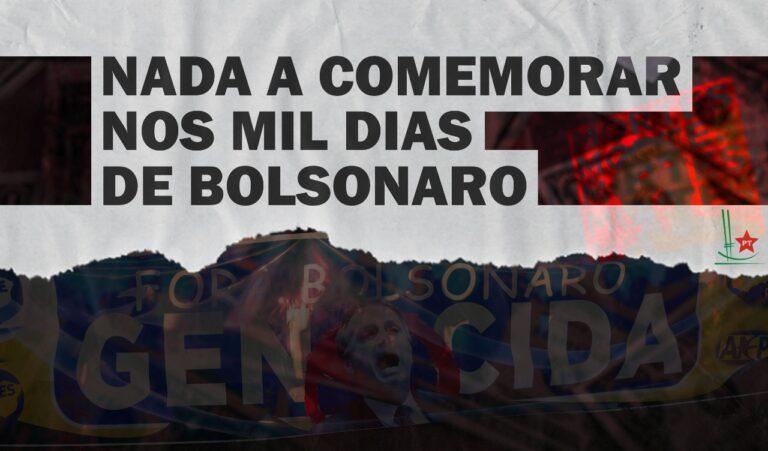 Mil dias de governo Bolsonaro marca a explosão da miséria, da fome, além das quase 600 mil mortes pela Covid-19, criticam petistas