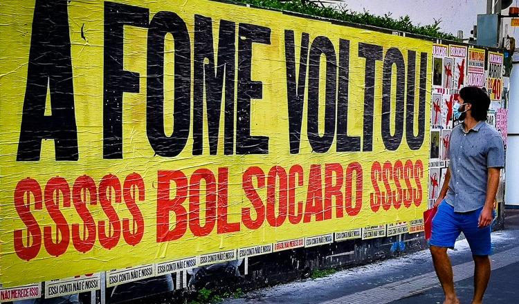 Campanha #ForaBolsonaro convoca manifestação para 2 de outubro
