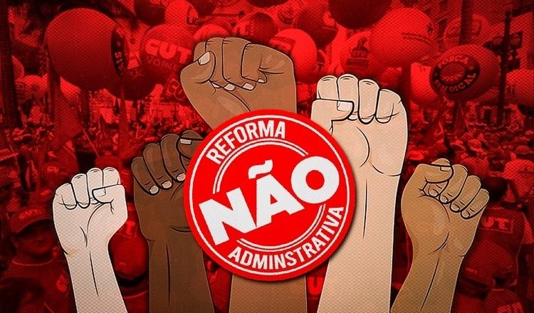 Trabalhadores mobilizam contra Reforma Administrativa nesta terça, em Brasília
