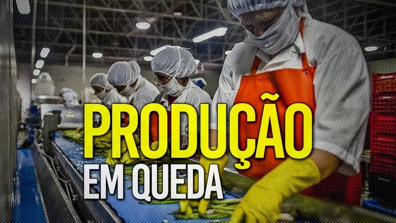 Com Bolsonaro, produção industrial desaba e agronegócio perde fôlego