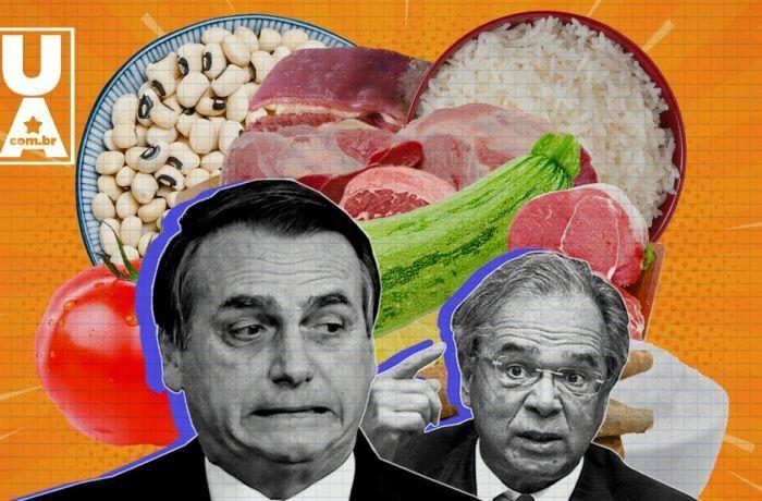 Geladeira vazia: inflação dos alimentos está descontrolada