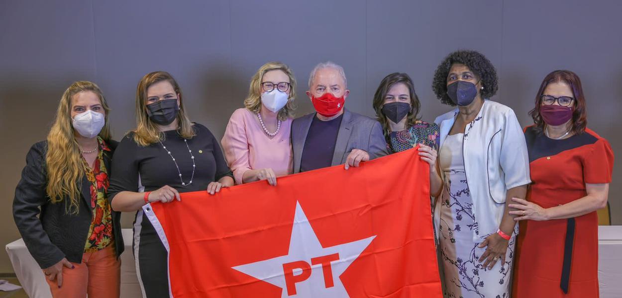 Lula defende eleição de grande bancada 'conectada com lutas do povo brasileiro'