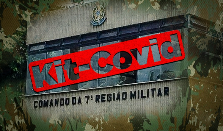 """Exército ordenou que médicos prescrevessem o """"kit covid"""""""