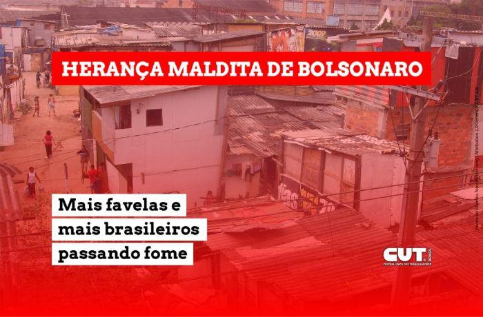Brasil tem 20 milhões passando fome, o dobro de favelas e alta até de pés de galinha
